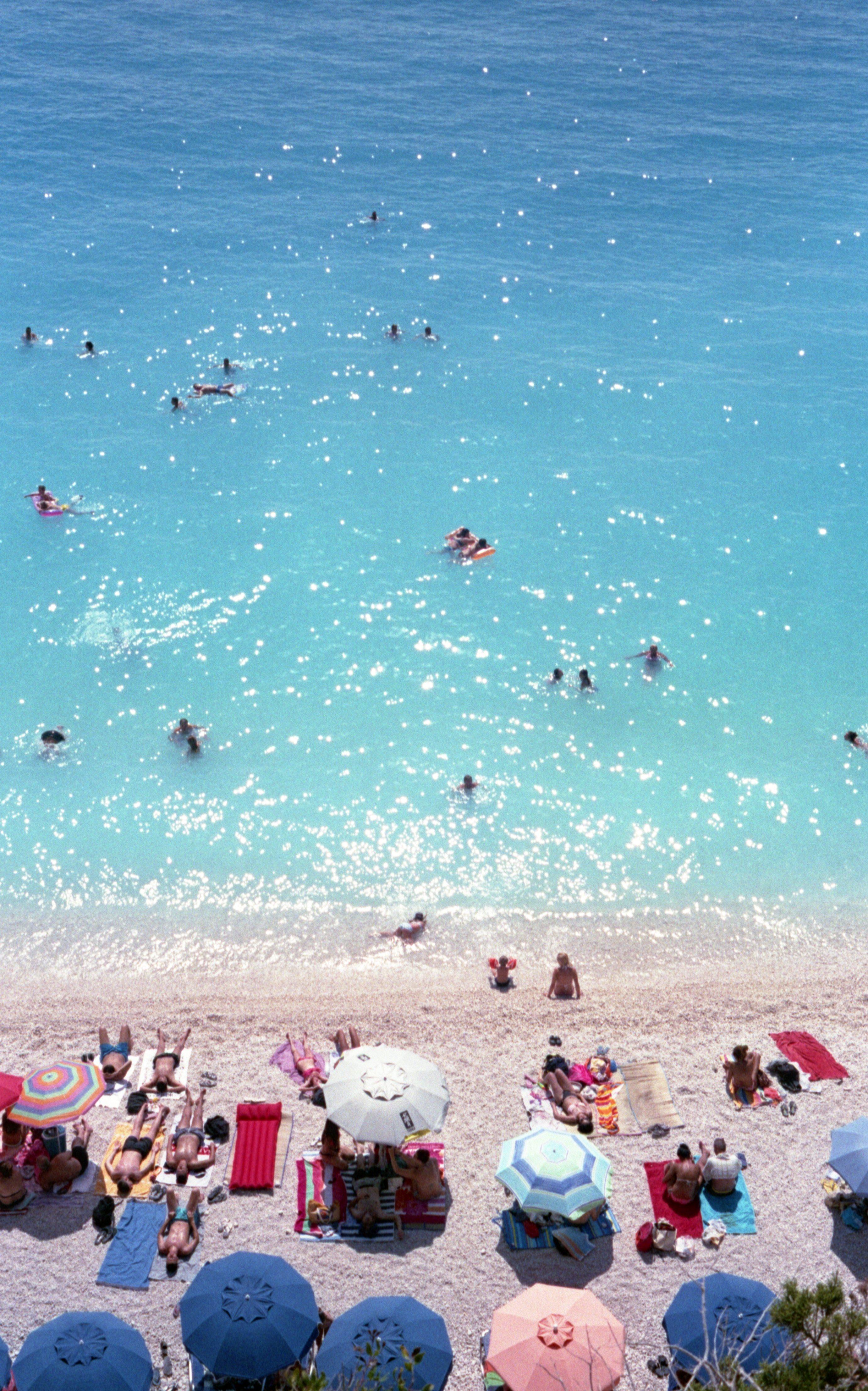 Beach time · Lefkada, Greece