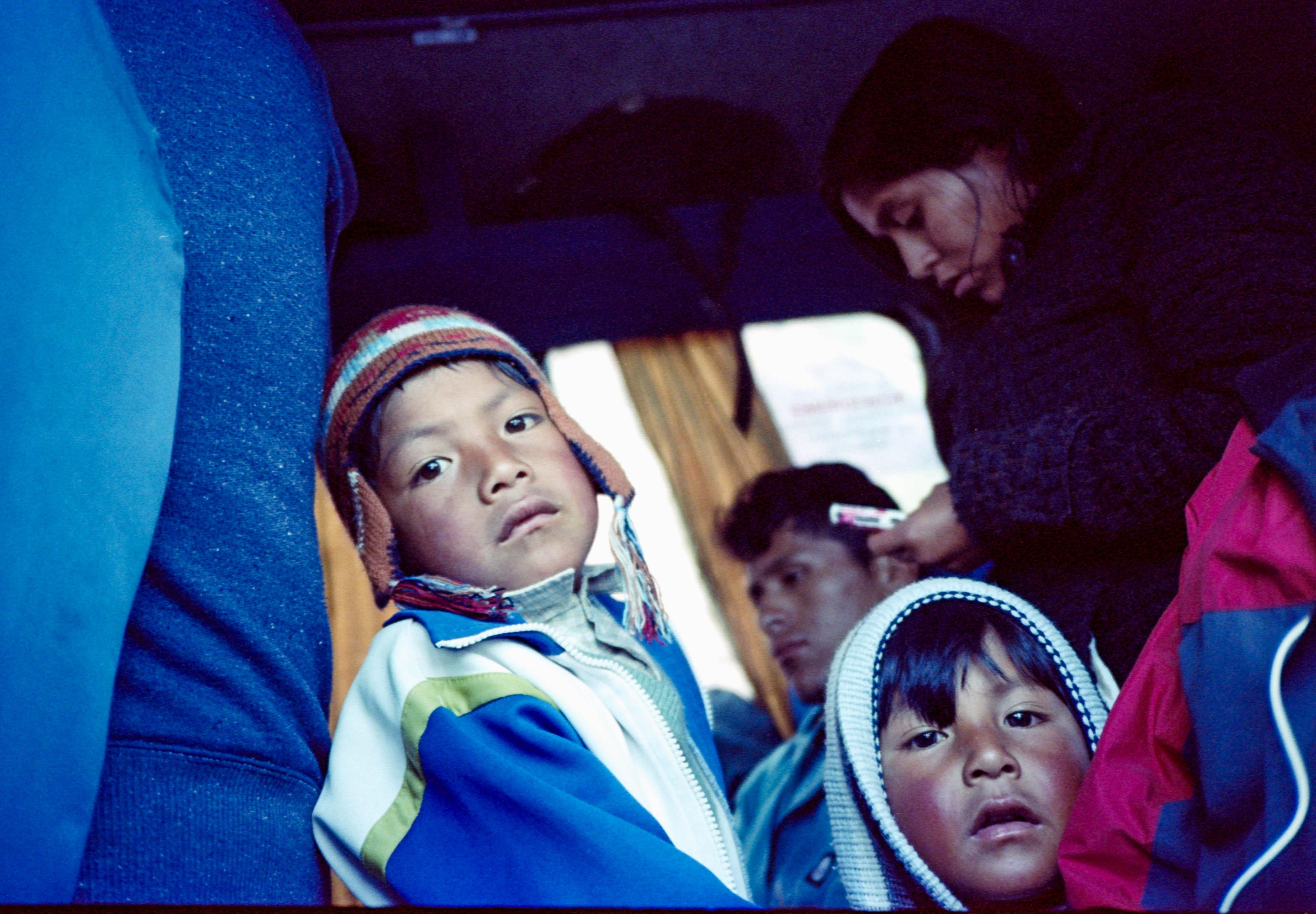 The foreigner · Cusco, Perù
