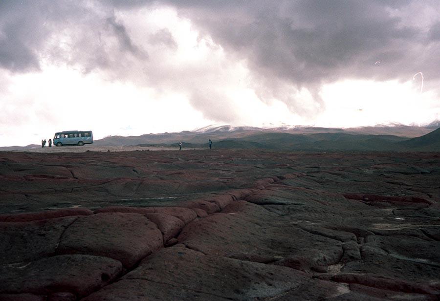A bus called quest · San Pedro de Atacama, Chile