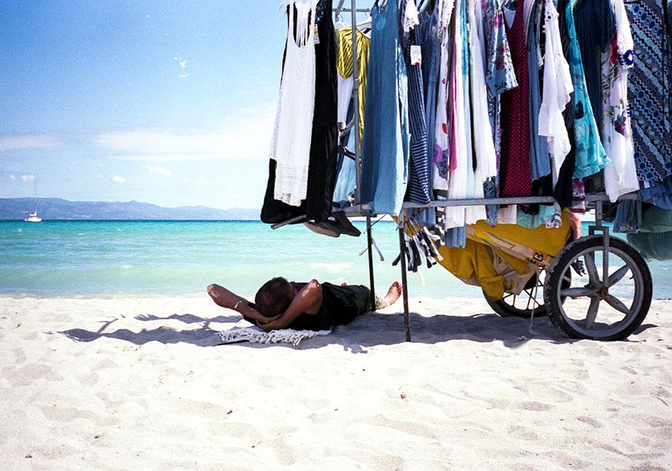 Beach nap · Sardegna